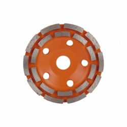 CORONA DOBLE PISTA MAMPOSTERIA 100mm - H22,2