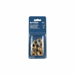 KIT DE 12 SETS DE OJETES 10 mm