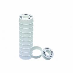ROLLO 12 MTS CINTA PTFE DE 12mm X 0,076mm