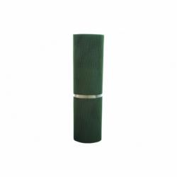 MALLA PLAST. CUADRADA JARDIN 5mm VERDE 1x25m