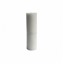 MALLA PLAST. CUADRADA JARDIN 20mm BLANCO 1x25m
