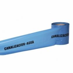 CINTA BALIZ. CANALIZACION AGUA 150MMX250MTS