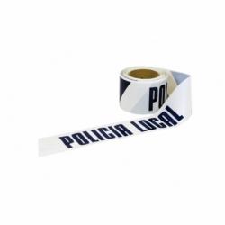 CINTA BALIZ. POLICIA LOCAL  80MMX100MTS