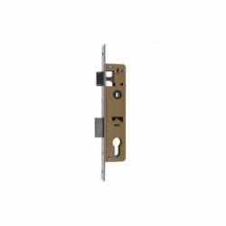 Cerradura Embutir+cerradero D85 E28 (L.Corta) Níquel (P/Metal)