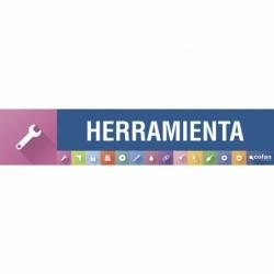 SEÑALETICA IMANTADA PARA EXPOSITOR 975 x 200 mm - HERRAMIENTA ELECTRICA