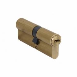 Cilindro de Seguridad 40/40- Latón-Leva Larga