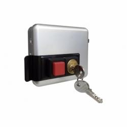 Cerradura eléctrica+cerradero C/ Pulsador- Izquierda