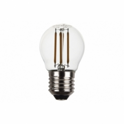 BOMBILLA LED ESFERICA FILAMENTO E27 4W 470LM 2700K