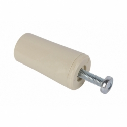 2 UDS TOPE PERSIANA 60MM MARRON 2 UDS