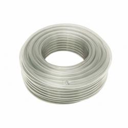 MANGUERA PVC MONOCAPA CRISTAL 7x10mm/100m