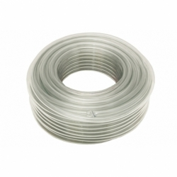 MANGUERA PVC MONOCAPA CRISTAL 20x26mm/50m