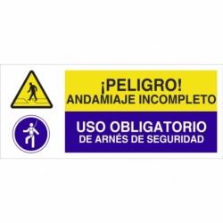 SEÑAL POLIESTIRENO 1,5MM 507X210