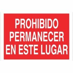 SEÑAL POLIESTIRENO 297X210MM