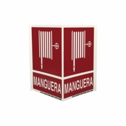 SEÑAL PANORAMICA LUMINISCENTE 297X210MM.